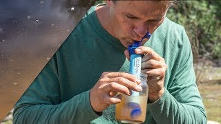 How effective is the Lifestraw?... Lifestraw vs. muddy puddle
