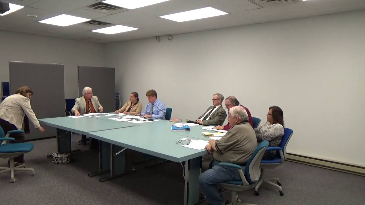 Town of Plattsburgh meeting  10-11-16