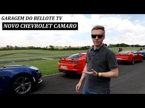 Garagem do Bellote TV (Lançamento): Novo Chevrolet Camaro