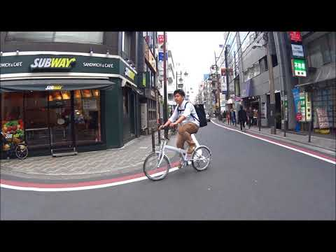 Cycling in tokyo ,japan 1.11.2017