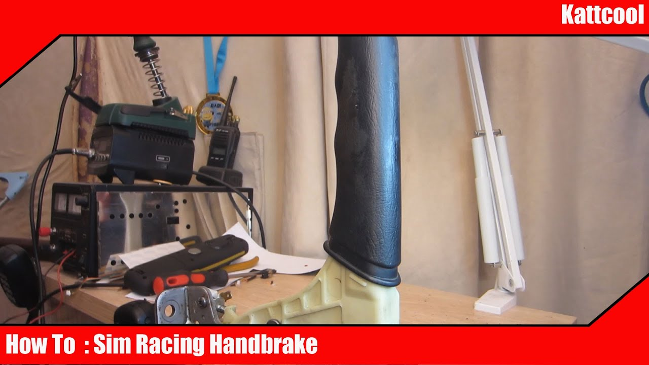 800b05774cd How to : Making Your own sim racing handbrake pc / ps4 - YouTube
