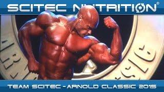 TEAM SCITEC - ARNOLD CLASSIC 2015