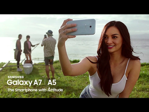 On the Road With Kylie | Samsung Galaxy A (2017)