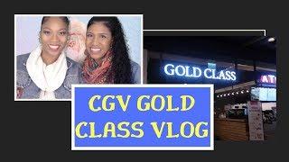 Gold Class CGV Movie Experience VLOG