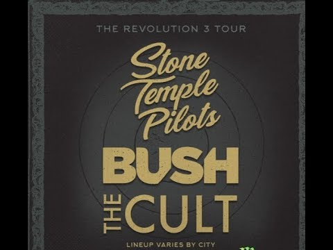 STONE TEMPLE PILOTS, BUSH and THE CULT on the Revolution 3 Tour...!