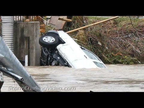 Dramatic video Columbia, SC Flooding aftermath