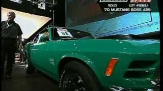 """Kevin's Klassic Cars"" Boss 429's at Barrett-Jackson"