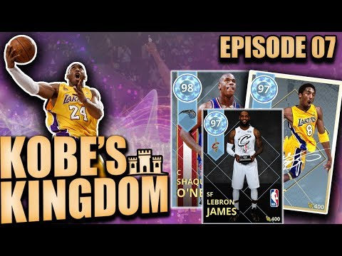Diamond Shaq and Kobe VS All Star MVP Lebron James in NBA 2K18 MyTeam Gameplay
