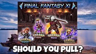 [FFBE] FFXI Prishe Banner Should You Pull?
