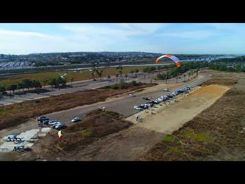 Para Gliding in Mission Bay