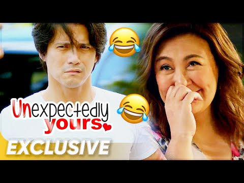 Exclusive: Must-watch: Robin pranks Sharon on the set of 'Unexpectedly Yours'