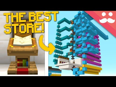 The BEST STORE in Minecraft Snapshot 19w03a!