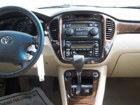 2002 Toyota Highlander 4dr V6 Limited Youtube