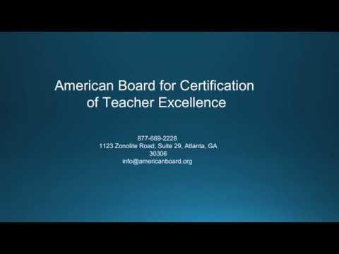 Teacher Certification in Missouri | American Board - YouTube