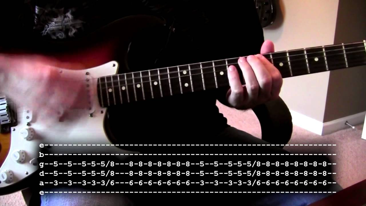 Nirvana In Bloom Guitar Cover With Tabs Youtube