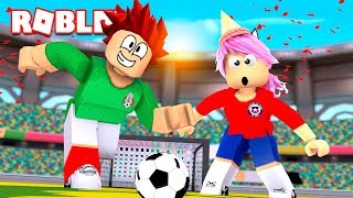 MEXIKO und CHILE in der WORLD FUTBOL 2018 robLOX! Welt 🏆⚽ RUSSLAND COPA FIFA WELT 2018