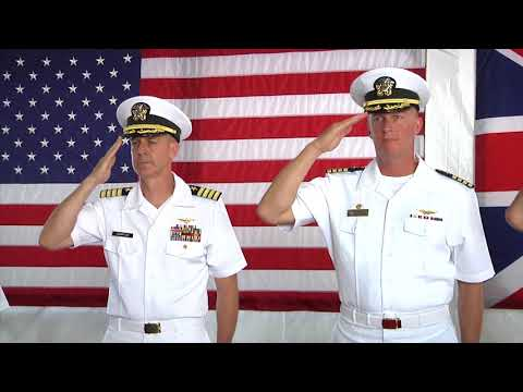 U.S. Navy Support Facility Diego Garcia Change of Command Ceremony