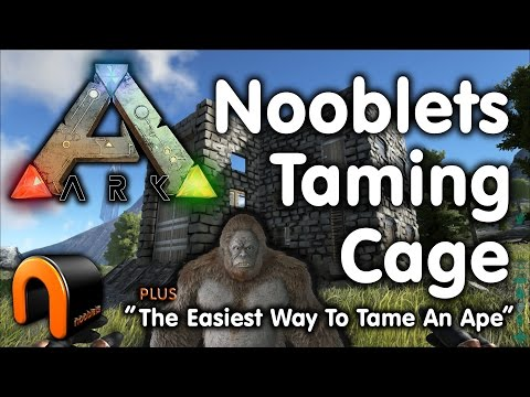 Nooblets Dino Taming Cage  - ARK Survival Evolved