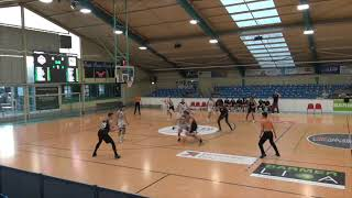 BSW Sixers vs. Orange Academy Ulm - Play-Offs ProB  Lucien Schmikale #9 white