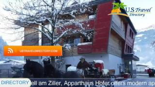 Apparthaus Hofer - Zell am Ziller Hotels, Austria