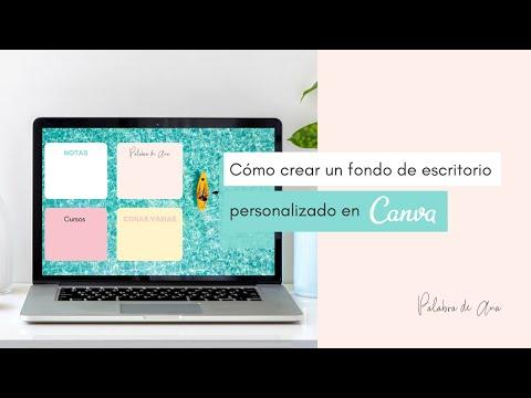 Tutorial: cómo crear un fondo de pantalla en Canva personalizado