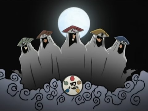 All kage in Naruto Shippuden