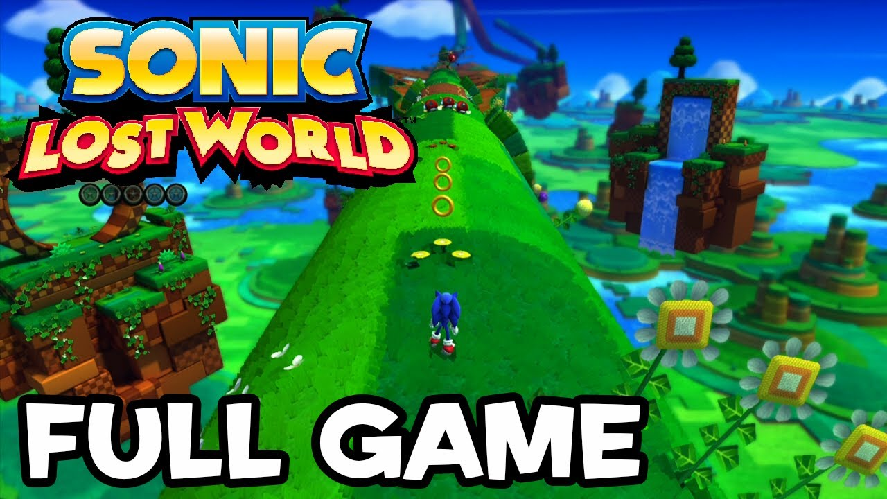 Sonic Lost World - Full Game Playthrough