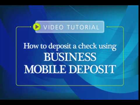 First Northern Bank and Trust - How to Deposit a Check using Business Mobile Deposit Video Tutorial