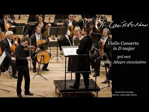 Tchaikovsky - Violin Concerto in D major, 3rd mvt - James Allen Gähres, cond., Ulm Philharmonic