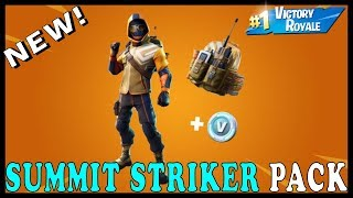 "NEW SUMMIT STRIKER PACK SKIN in FORTNITE - NEW ""HEAVY AR (AK47)"" WEAPON! // Playing With SUBSCRIBERS"