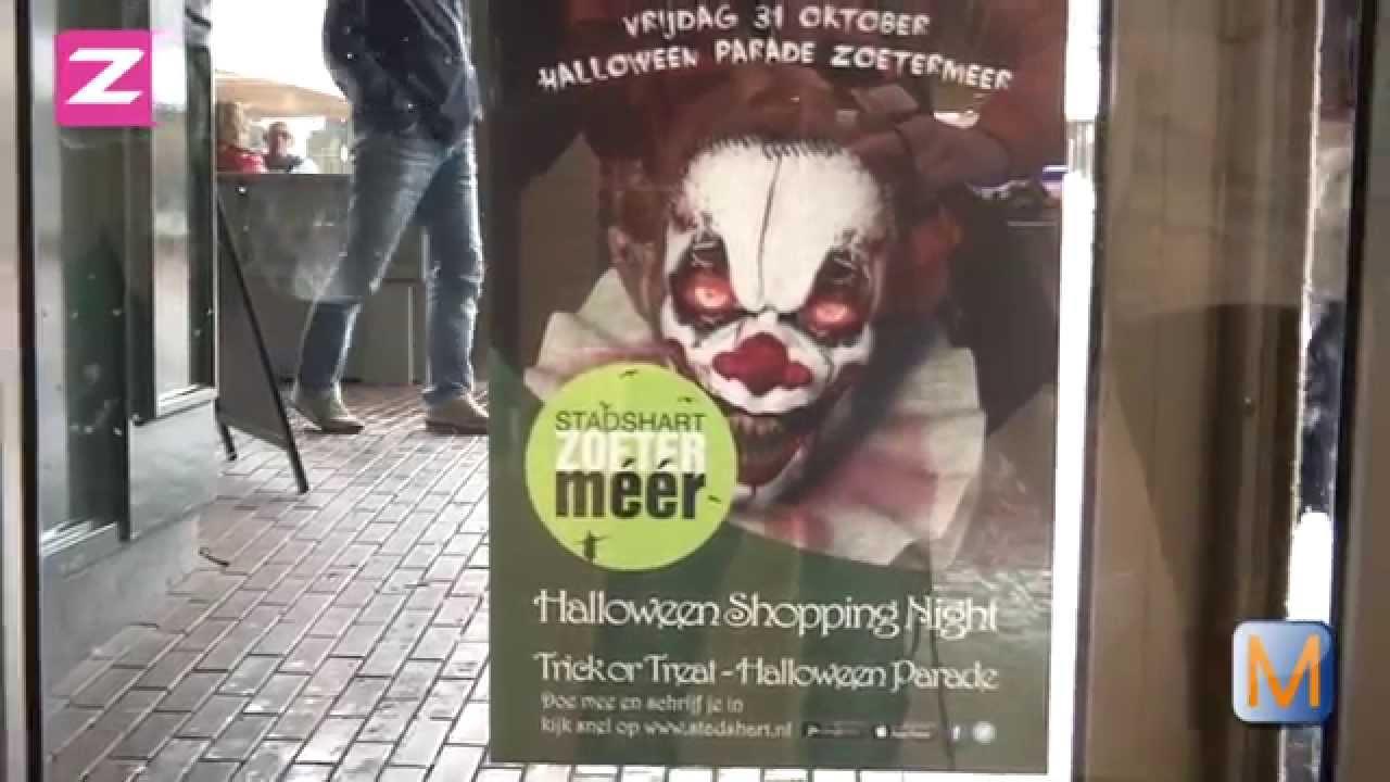 Halloween Zoetermeer.Ophef In Zoetermeer Door Halloween Poster