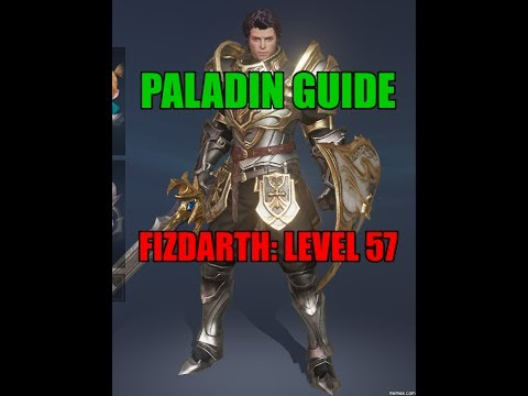 "Lineage 2 Revolution Gameplay Paladin Guide: ""fizdarth"" Level 57 Paladin Build"