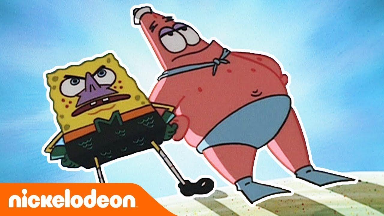 SpongeBob Kanciastoporty | Najlepsi przyjaciele 1 | Nickelodeon Polska