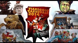 Carnevale Viareggio 2016 sfilata notturna (tutti i carri e tutte le maschere)