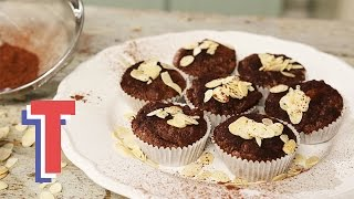 Indulgent Gluten Free Chocolate Almond Muffins | Yum In The Sun S1E2/8