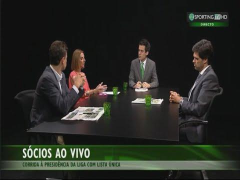 A candidatura de Luís Duque à Liga em análise - Sporting TV (23/10/2014)