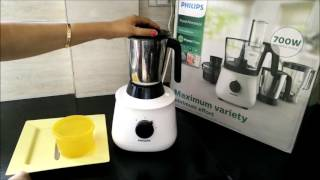 how to make tomato puree with philips food processor hl1660   philips food processor review
