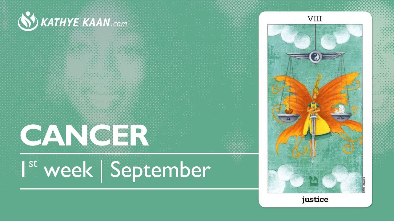 CANCER Weekly Reading Psychic Tarot | Horoscope | Week 36 | September 3 - 9
