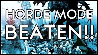 Dota 2 Mods | BEATING HORDE MODE!!