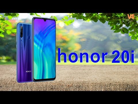 Honor 20 Lite First Look, Launch Date, Price, Official Video, Features, Trailer, Specs aka Honor 20i