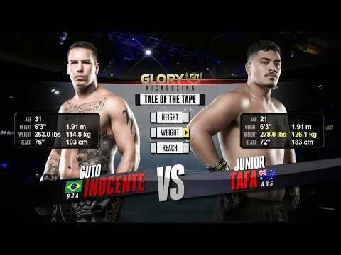 Guto Inocente VS Junior Tafa - GLORY 50 Chicago