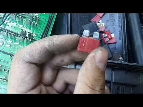 Ремонт вентилятора системы охлаждения  ВАЗ 2107.