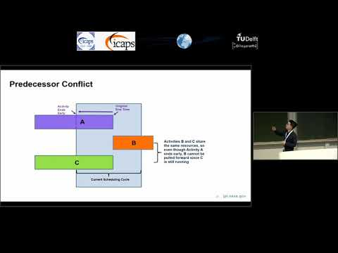 "ICAPS 2018: Wayne Chi on ""Embedding a Scheduler in Execution for a Planetary Rover"""
