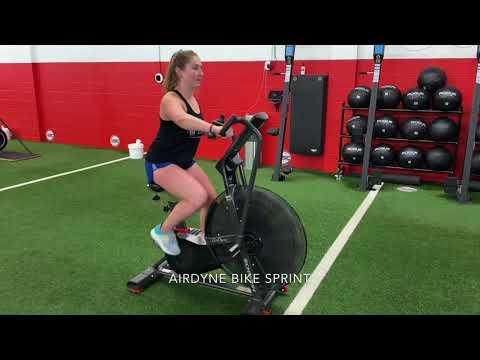 Airdyne Bike Sprints
