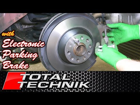 How to Change Rear Brake Discs and Pads with Electronic Parking Brake (EPB) - Audi VW Skoda Seat VAG