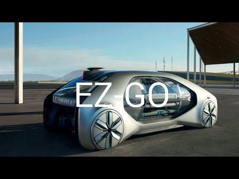 Renault Ez Go Ii Self Driving Electric Car 2018 2019 Youtube