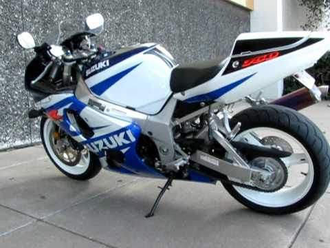 2002 GSXR 750 only 1170 actual miles, one owner, FMF Exhaust, for sale