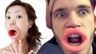 JAPANESE MOUTH WIDENER?! (5 Weird Stuff Online - Part 08)