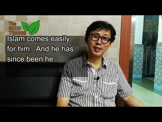 {TheGoodTidings} He owns a Halal Restaurant in Korea!