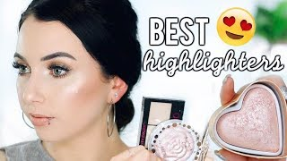 ALL TIME FAVORITE HIGHLIGHTERS that DON'T Emphasize Texture!